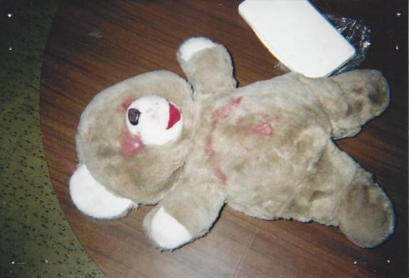 teddy bear sacrifice