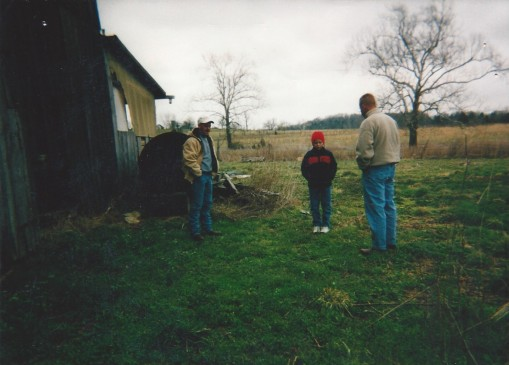 3.27.2002_behind barn_the spot